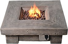 Peaktop HF11501AA UK Gas Fire Pit With Cover
