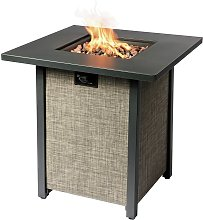 Peaktop HF28201AA UK Gas Fire Pit With Cover