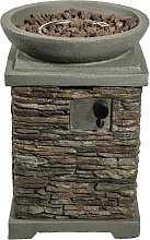 Peaktop HF29308AA UK Gas Fire Pit With Cover