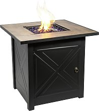 Peaktop HF30181BA UK Gas Fire Pit With Cover