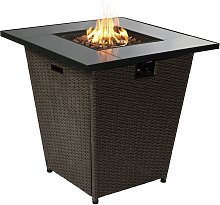 Peaktop HF30200AA UK Gas Fire Pit With Cover