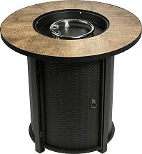 Peaktop HF30900BA UK Gas Fire Pit With Cover