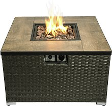 Peaktop HF31188AA UK Gas Fire Pit With Cover