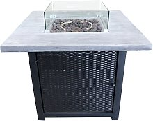 Peaktop HF34501BA UK Gas Fire Pit With Cover