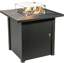 Peaktop HF45701AA S UK Gas Fire Pit With Cover
