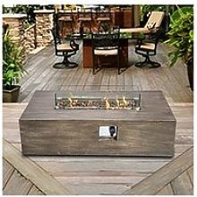 Peaktop Peaktop Firepit Outdoor Gas Fire Pit With