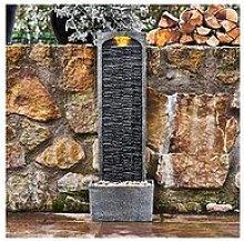 Peaktop Water Fountain Indoor Conservatory Garden Slate With Lights