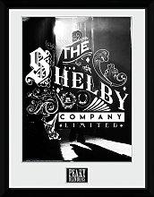 Peaky Blinders Shelby Company Framed Print Wall Art