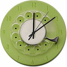 Pealrich 25 x 25 CM Silent Non-Ticking Wall Clock