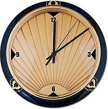 Pealrich 25 x 25 CM Wall Clock Art Deco Style