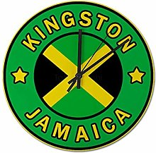 Pealrich 25 x 25 CM Wall Clock Kingston, Jamaica