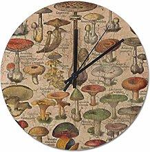 Pealrich 38 x 38 CM Non-Ticking Wall Clock Silent