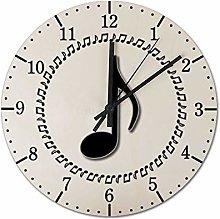 Pealrich 38 x 38 CM Silent Non-Ticking Wall Clock