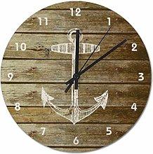 Pealrich Wall Clock Silent Non Ticking - 25 x 25