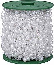 Pearl Bead Chain Artificial Beads String Chain