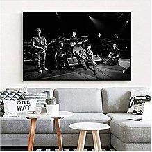 Pearl Jam Photo Poster Art Canvas Art Print Wall