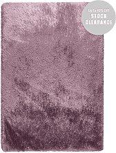 Pearl Mauve Plain Shaggy - Stock Clearance 80x150cm