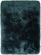 Pearl Teal Polyester Rug 80x150cm