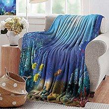 PearlRolan Wearable Blanket,Ocean Animal