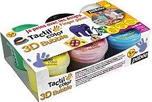 PEBEO 635191 Fingermalfarbe Tactilcolor Set of 6