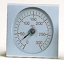 PEBEO Oven Thermometer, Silver