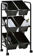 pedkit 6-Basket Toy Storage Trolley, Kitchen