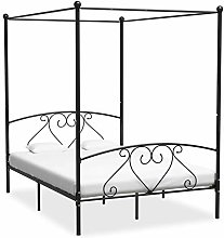 pedkit Canopy Bed Frame, Single&Double Bed, 4