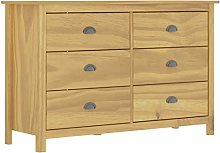 pedkit Sideboard Drawer Cabinet, Chest of 6