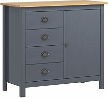 pedkit Sideboard Drawer Cabinet Console Table with