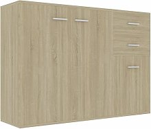 pedkit Sideboard with 3 Drawers and 2 Doors, Side