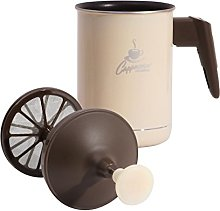 PEDRINI Milk Frother 0.5 litres yellow
