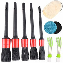 Peerless Car Detailing Brush 8pcs,Automotive