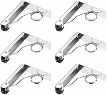 Peerless Tablecloth Clips Spring Stainless Steel