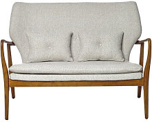 Peggy Straight sofa - 2 p. - L 124 cm by Pols
