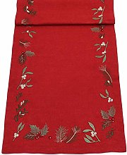 Peggy Wilkins Blessed Embroidered Christmas Table