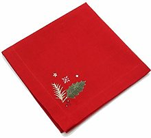 Peggy Wilkins Enrapture Holly Christmas Napkin