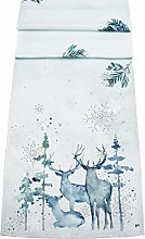 Peggy Wilkins Fantasy Woodland Stag Table Runner