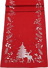 Peggy Wilkins Frosty Forest Embroidered Christmas