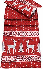 Peggy Wilkins Norse Christmas Tapestry Table Runner