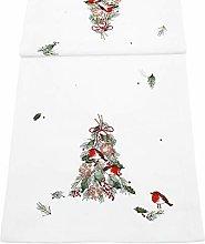 Peggy Wilkins Rejoice Christmas Robins Table