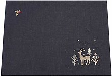 Peggy Wilkins Woodland Way Christmas Embroidered