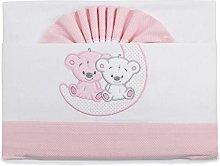 PEKITAS Baby Flannel Bedding Set 3 Pcs Cot 60 x