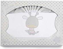 PEKITAS Baby Flannel Bedding Set 3 Pieces Cot 60 x