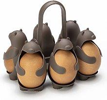 PELEG DESIGN Eggbears Egg Holder | For Cooking &