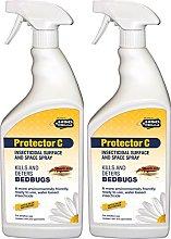 PelGar Protector C Bed Bug Killer Spray Treatment