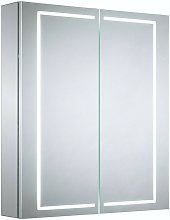 Pelli diffused LED illuminated mirror cabinet 700