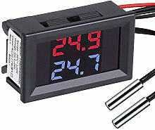 PEMENOL Red + Blue Dual Display Digital Thermometer