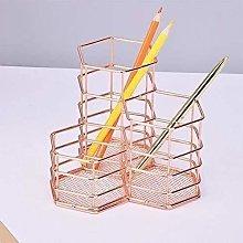 Pen holder Holder Desk Storage Hexagonal