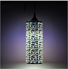 &Pendant Chandelier Chandelier, 3D Stained Glass