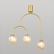 &Pendant Chandelier Pendant Lamp, Round Glass